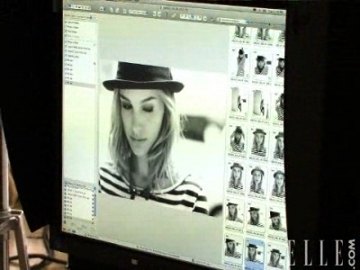 Carter Smith for Elle US (April 2008)- Behind the Scenes