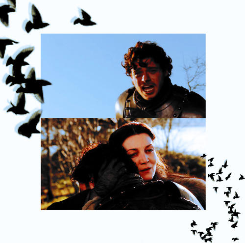 Catelyn and Robb - catelyn-tully-stark Fan Art
