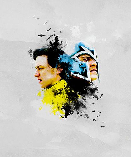 X Men First Class Charles And Erik