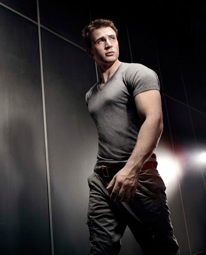 Chris Evans - Men's Health Magazine (August)