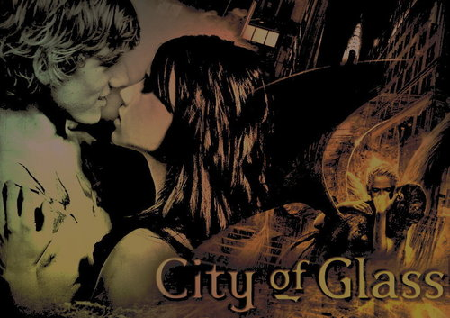Mortal Instruments karatasi la kupamba ukuta containing anime entitled City of Glass