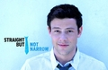 Cory is *Straight But Not Narrow* - cory-monteith-and-chris-colfer photo