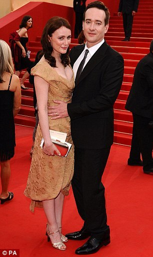 Matthew Macfadyen couple