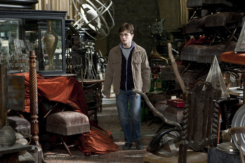 Daniel Radcliffe wallpaper with a barrow titled DH Part II