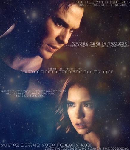 Damon/Katherine - Losing Your Memory (2x21)