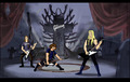 Dethklok on Stage