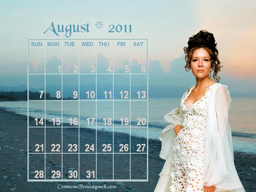 Diana - August 2011 (calendar)