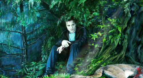 Robert Pattinson wallpaper probably with a sitka abete rosso titled Edward Cullen