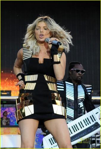 Fergie: Wireless Festival with Black Eyed Peas!