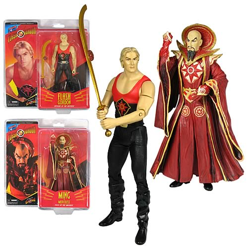 Flash Gordon Action Figures