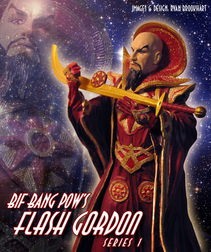Ming the Merciless Action Figure ad