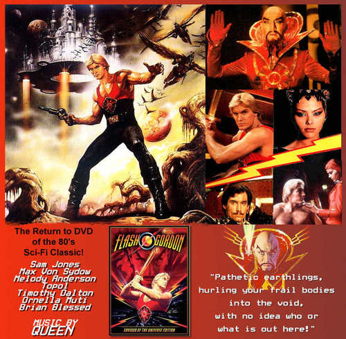 Flash Gordon: Saviour of the Universe Edition, DVD ad