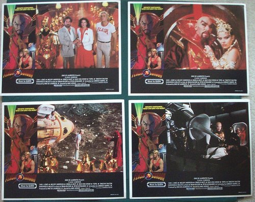 Flash Gordon German Press Kit