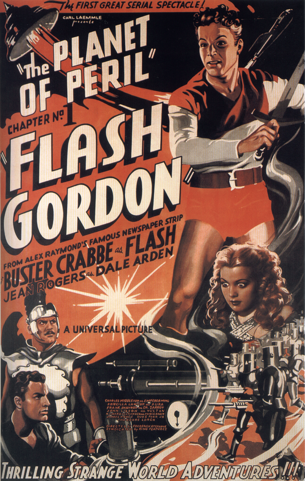Flash Gordon Film Serial Poster