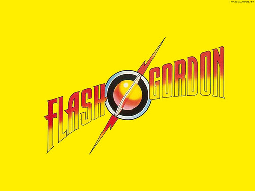 Flash Gordon título fondo de pantalla