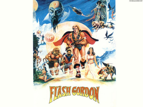 Flash Gordon Movie Remakes Poster