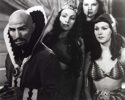 Ming the Merciless Enjoys His Private Time