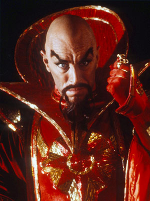 Ming the Merciless Demands Audience Participation