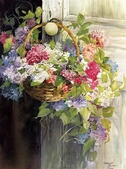 Floral paintings beautiful images fan art 23469985 for Pretty flower paintings