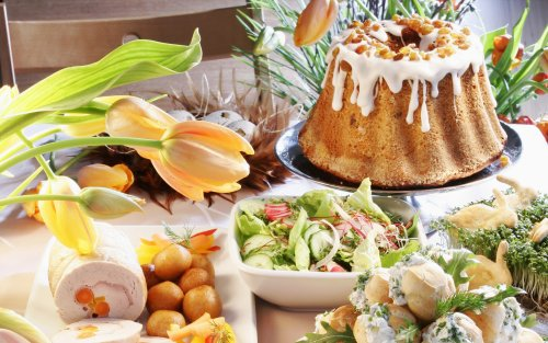 Delicious Recipes wallpaper with a holiday dinner, an antipasto, and a turkey dinner titled Food
