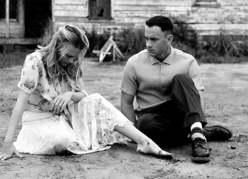 Television & Movie Couples wallpaper probably containing a park bench entitled Forrest and Jenny (Forrest Gump)