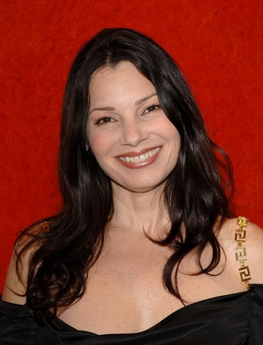 Fran Drescher Hintergrund probably with a portrait titled Fran Drescher