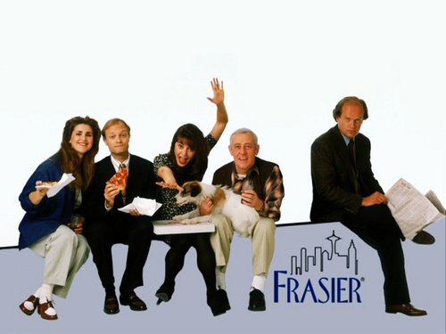 Frasier fondo de pantalla containing a business suit and a well dressed person titled Frasier
