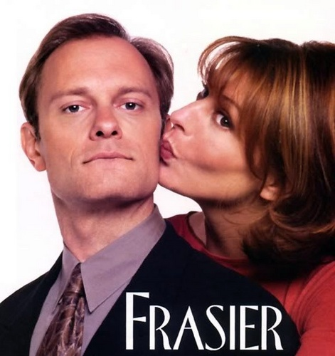 Frasier wallpaper possibly with a business suit, a well dressed person, and a portrait titled Frasier