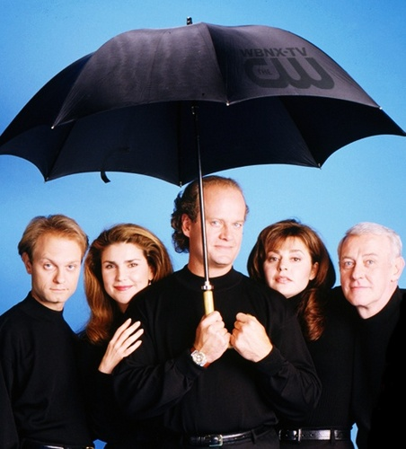 Frasier wallpaper with a parasol entitled Frasier