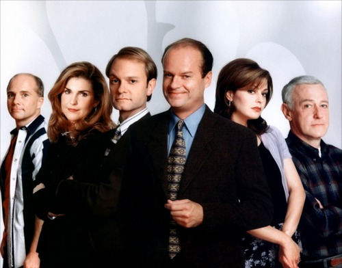 Frasier 바탕화면 containing a business suit titled Frasier