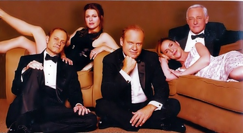 Frasier fondo de pantalla possibly containing a well dressed person, a business suit, and a dress suit titled Frasier