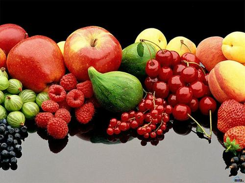 Delicious Recipes wallpaper containing an european red elder, a vinifera, and a bing cherry called Fruits