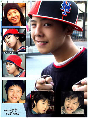 G Dragon baie and boy