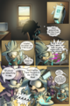 GOTF page 11 issue 8, Silver and Blaze - silvaze fan art