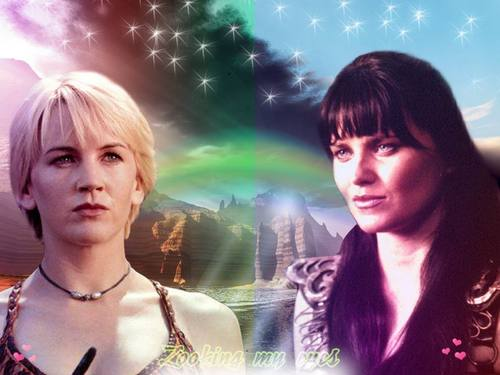 Gabrielle & Xena. Ties of cinta