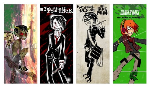 Gee phases - my-chemical-romance Fan Art
