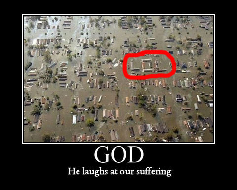 God Laughs at your pain