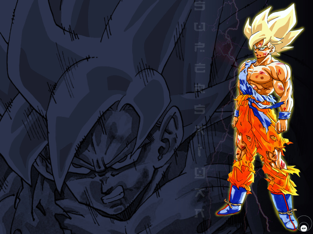 Dbz Wallpaper Goku dbz-rampage Wallpaper