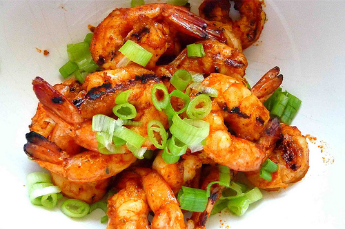 Grilled shrimp, kamba