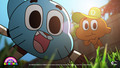 Gumball and Darwin - the-amazing-world-of-gumball wallpaper