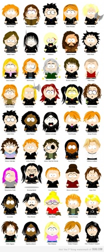 HP meets South Park