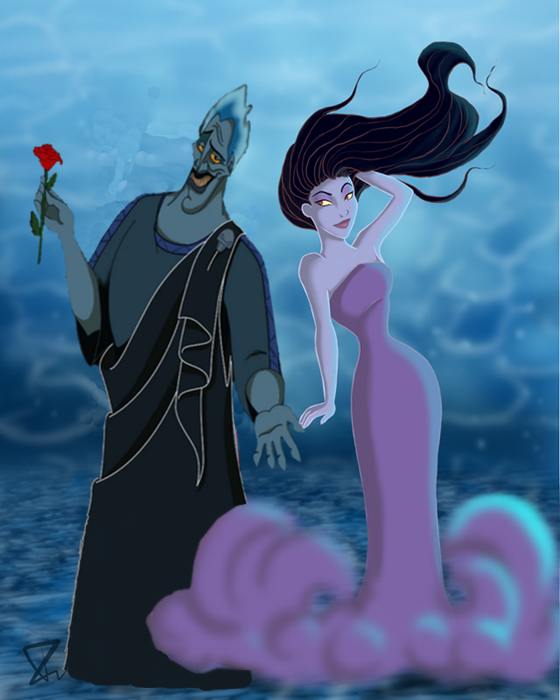 Hades Eris Disney Crossover Fan Art 23445151 Fanpop