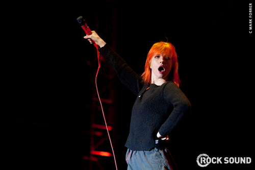 Hayley at Rock for People