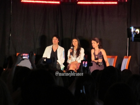 Ian and Nina at the Mystic pag-ibig Convention 7-2 & 7-3 2011