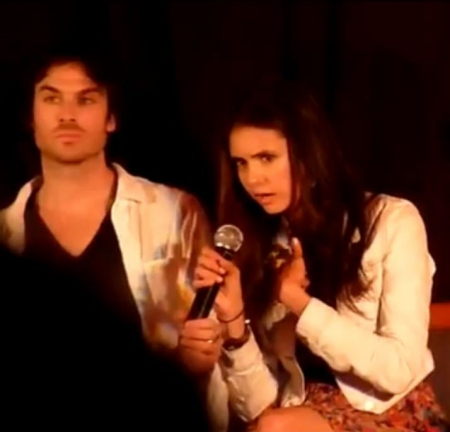 Ian and Nina at the Mystic 爱情 Convention 7-2 & 7-3 2011