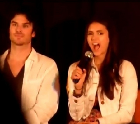 Ian and Nina at the Mystic amor Convention 7-2 & 7-3 2011