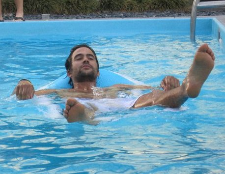 Ignacio Swimming