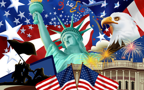 United States Of America wallpaper probably containing a parasol entitled Independence Day