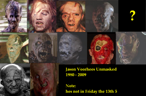 Jason's Faces