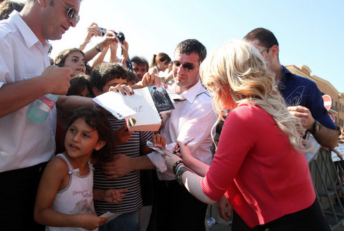 July 3 - Meeting fans in Ostia
